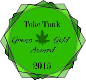 TokeTankGreenGoldAward2015