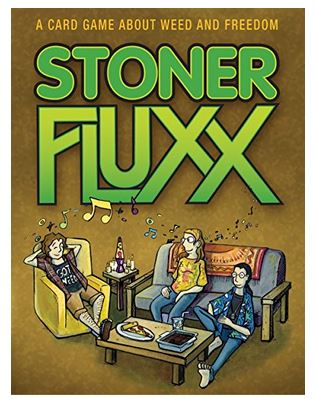 Drinking Games Are Abundant But Ganja Smoking Can Be Hard To Come By The Fluxx Series Has Solved This Lack Of Innovation Creating Stoner